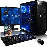 VIBOX Ultra 11 Gaming PC Computer mit War Thunder Spiel Bundle, 22 Zoll HD Monitor (3,4GHz AMD A8 Quad-Core Prozessor, Radeon R7 Grafik Chip, 8Go DDR4 2133MHz RAM, 1TB HDD, Ohne Betriebssystem)