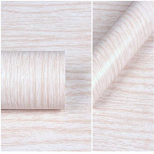 jidan 10m heiße Klassische Holzstreifen 3D-PVC-Wandplatte wasserdicht Selbstklebende PVC 3D Tapeten for Haus Dekoration und Wohn Haus (Color : Light Grey, Dimensions : 10mx45cm)