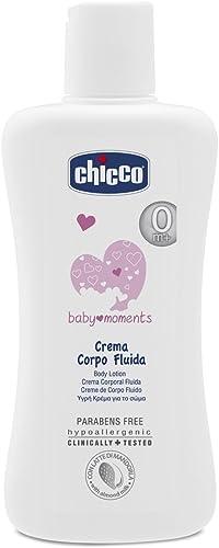Chicco Baby Moments Crema Corpo Fluida, 200 ml