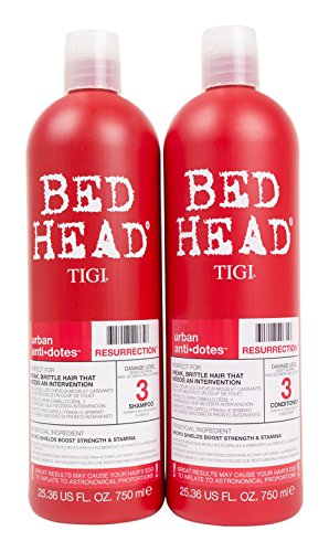 Bed Head Shampoo and Conditioner, Urban Antidotes Resurrection, 25.36 Fluid Ounce