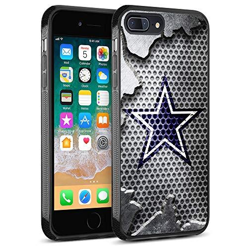 Cowboys iPhone 8 Plus Case, iPhone 7 Plus Case Cover Cowboys Design Slim Fit Shockproof Anti-Scratch Shell for iPhone 8 Plus/iPhone 7 Plus 5.5 inches
