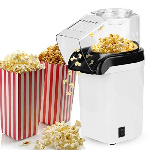 Andraw Hocheffiziente elektrische Popcornmaschine, PopcornmaschinePopcorn Maker Popcorn Mikrowelle SchokobrunnenHaushalts 1200w automatische Maiskolben, für Bar Coffee Shop Home