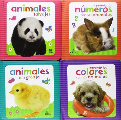 Pack Animalitos: Animales de la Granja, Animales Salvajes, Aprendo los Colores con los Animales y Aprendo los Números con los Animales