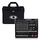 Dynacord CMS600-3 - Banda de estudio para mesa de mezcla, incluye bolsa de transporte
