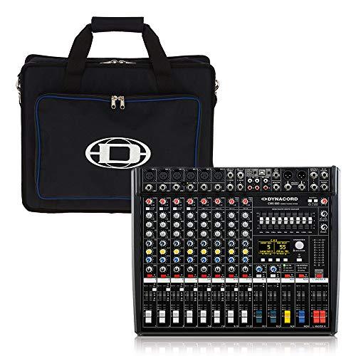 Dynacord CMS600-3 Mixer Mixer Bureau PA Systeem Studio Band inc Draagtas