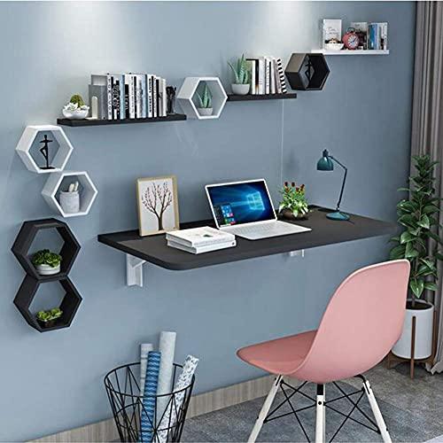 ZCYY Mesa montada en la Pared, Escritorio Plegable para computadora montado en la Pared, Mesa de Hojas abatibles, Escritorio de tareas para niños Mesa de Escritura