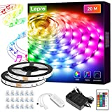 Lepro LED Strip 20M(2x10M), LED Streifen Musik...