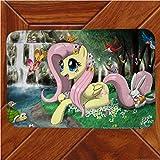 Vscdye My Little Pony Rainbow Horse Tappetino Tappeto Decor Camera Zerbino Anime Manga Tappeti Antiscivolo200X300Cm