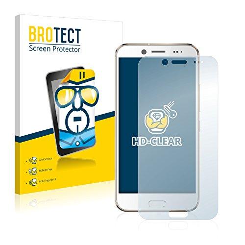 brotect Pellicola Protettiva Compatibile con HTC 10 Evo Pellicola Trasparente (2 Pezzi) Anti-Impronte