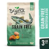 Purina Beyond Grain Free, Natural Dry Cat Food, Grain Free Ocean Whitefish & Egg Recipe - 3 lb. Bag