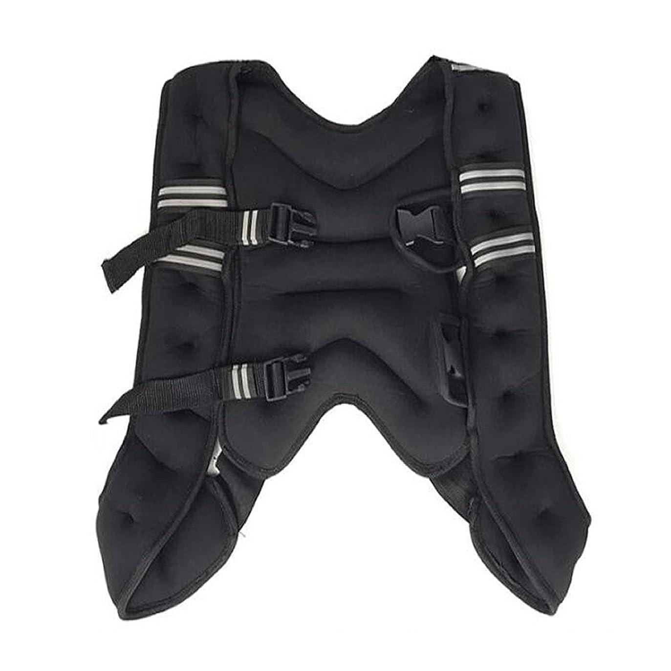 挑むクリーム黒くするJIASHUOフィットネス 重り 負荷 ジャケット パワージャケット ウェイトベスト 10kg 筋トレ ウエイト トレーニング de079