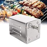 4YANG Acciaio Inox Barbecue Grill girarrosto Motore Motore girarrosto a griglia da 70 kg BBQ Roaster Motore Elettrico Portatile Barbecue all'aperto Accessori