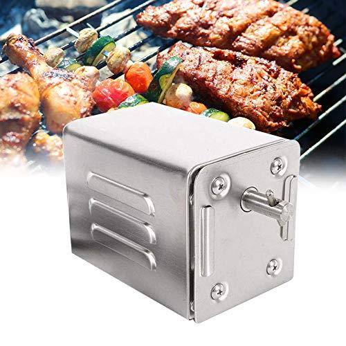 4YANG Acero Inoxidable BBQ Grill Asador eléctrico Motor Motor de asador de...