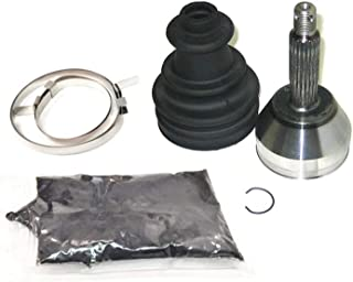 Aintier Front Outer Joint CV Boot Replacement Kit fit for 2001-2010 Chevrolet Silverado 2500 HD