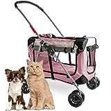 PetLuv 'Happy Pet Premium 3-in-1 Soft Sided Detachable Pet Carrier,...