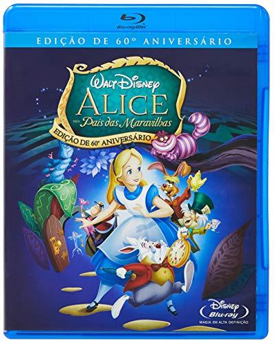 Alice No País Das Maravilhas Edição De 60º Aniversário [Blu-ray]