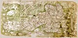 Doppelganger33LTD MAP C.1360 UNKNOWN GOUGH BRITISH ISLES LARGE POSTER PRINT PAM0723
