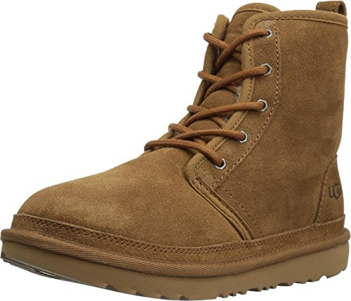 UGG Kids' Harkley Boot, Chestnut, 3 M US Little Kid
