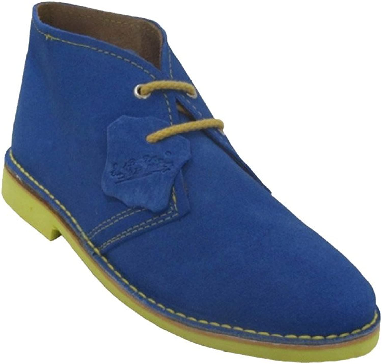 La Auténtica K100PC - Desert Boot Italian tip Combined, Unisex Adult, Electric bluee - Yellow