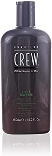 American Crew 3-In-1 Tea Tree Body Cleanser, 15.02 Ounce