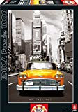 Educa 14468 - Taxi No 1, New York - 1000 Pieces - Coloured Black & White Puzzle by