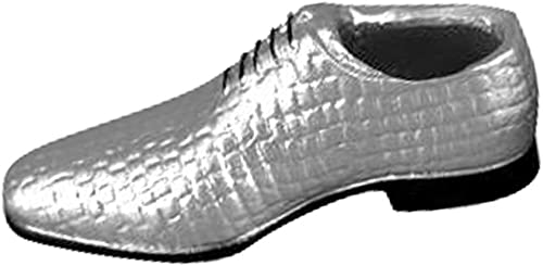 Willsego 1 par de Cordones Plateaños Zapaños de 12 Pulgadas para Hombre Figura de acción para Hombre, Accesorio para el Cuerpo (Color   -, Tamaño   -)