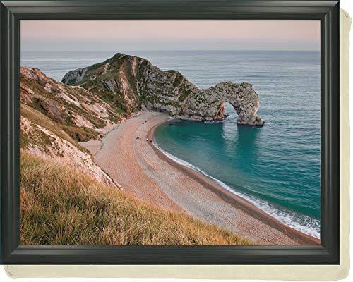 Creative Tops 'Durdle Door' Cushioned Bean Bag Lap Tray, 44 x 34 cm (17.5' x 13.5') - Multi-Colour