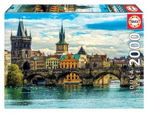 Vista de Praga 2000 piezas Puzzle