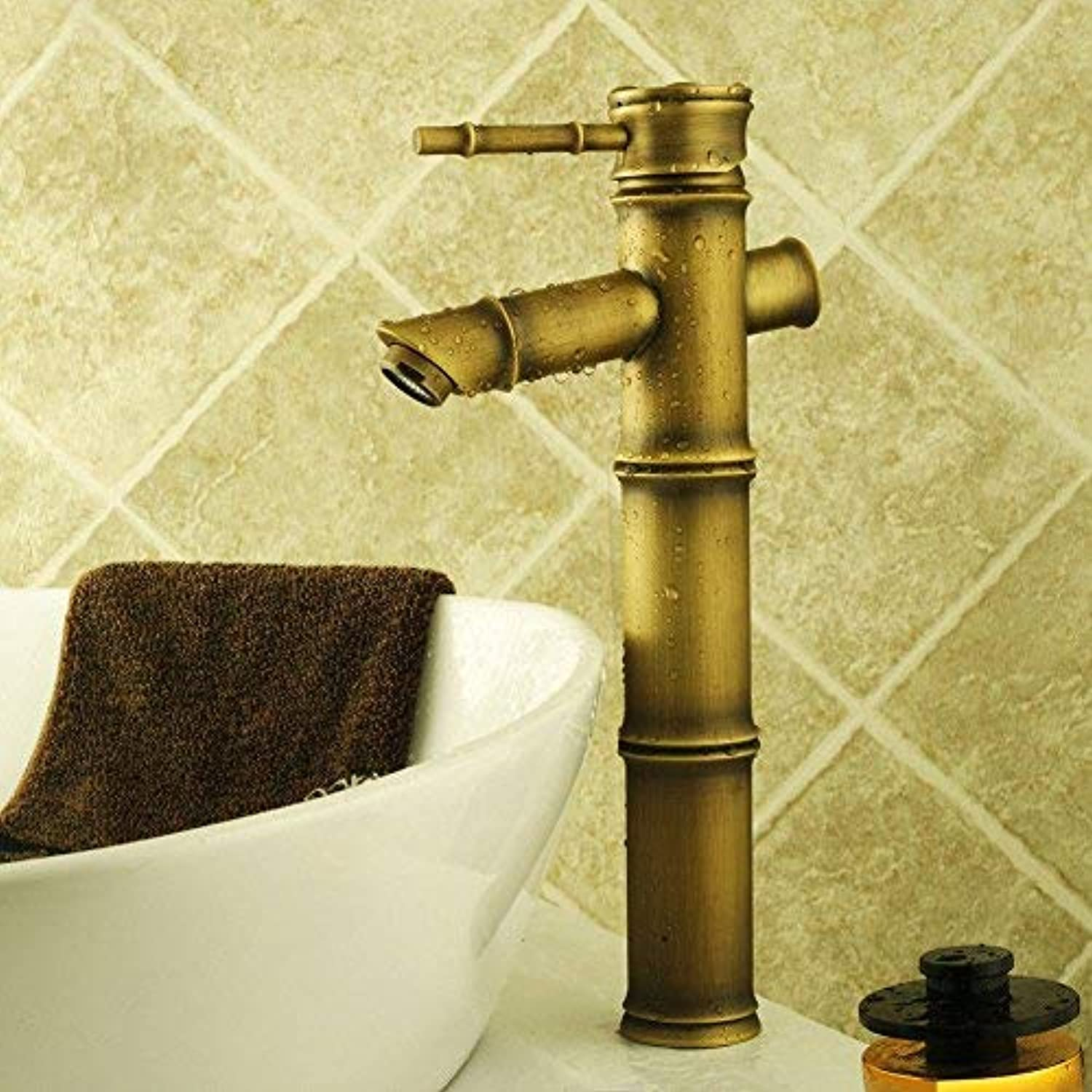 FORTR home Sink Mixer Tap Bathroom Kitchen Basin Tap Leakproof Save Water Mixing Hot And Cold