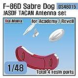 デフモデル 1/48 現用 航空自衛隊 F-86Dセイバードッグ TACAN/インテイクカバーセット (アカデミー/レベル用) プラモデル用パーツ DS48015