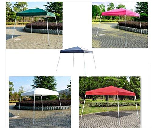8' X 8'Outdoor Slant Leg Ez Pop Up Canopy Wedding Party Tent Folding Gazebo
