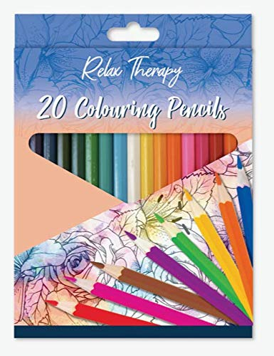20 Coloring Professional Pencils Set for Great Results, Pencils For Adult...