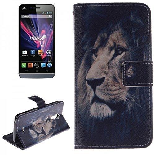 Booktasche Wallet Design Erscheinungsbild für Wiko Wax Tasche Hülle
