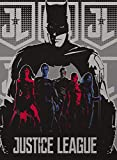 Justice League Batman Movie Heroes Silky Soft Throw 40 x 50