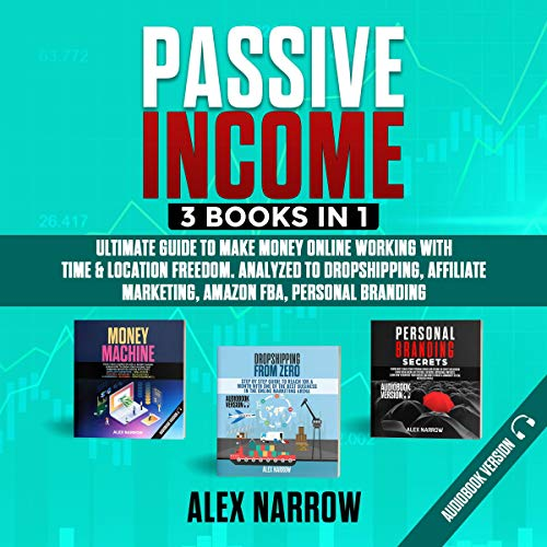 Passive Income: 3 Books in 1 cover art