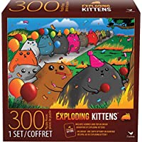 Spin Master Cardinal Games Exploding Kittens 300-Piece Jigsaw Puzzle