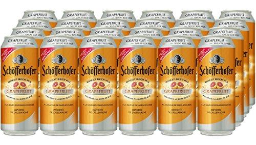 Schofferhofer Grapefruit Beer, 500 ml, Case of 24, NA27