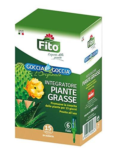 Fito X100802 Goccia Piante Grasse, Rosso, 8.1x5.6x14 cm