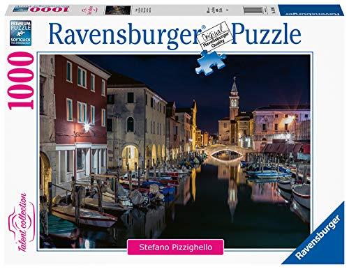 Ravensburger Puzzle, Puzzle 1000 Pezzi, Canali di Venezia, Puzzle per Adulti, Talent Collection, Puzzle Venezia, Puzzle Ravensburger - Stampa di Alta Qualità