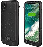 Funda de batería para iPhone XR, 3600 mAh, funda de carga portátil protectora de cuerpo completo para iPhone XR Batería externa cubierta del teléfono de 6.1 pulgadas - Versión de actualización