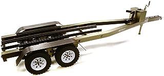 INTEGY RC Model Hop-ups C27640GUN Machined Alloy Dual Axle Boat Trailer Kit for 1