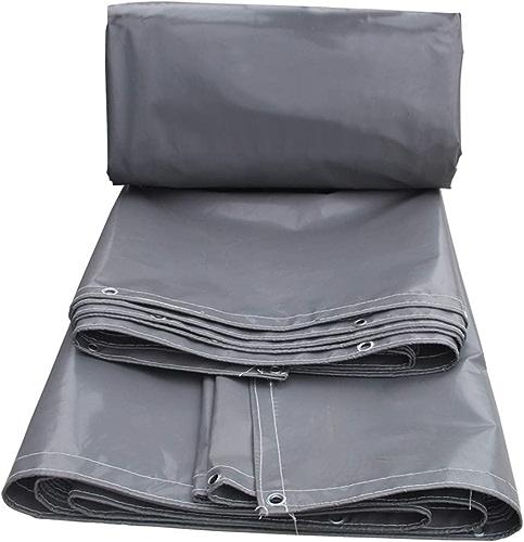 AMY Toile antipluie Bache Poncho imperméable Toile pour auvent épais Toile écran Solaire en linoléum - Options Multi-Tailles