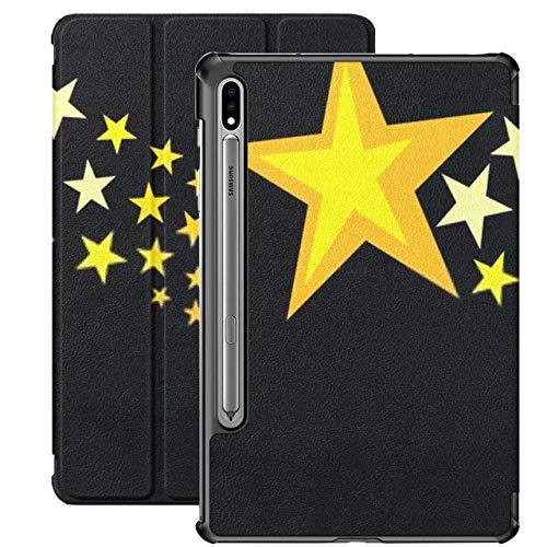 Funda para Galaxy Tab S7 Funda Delgada y Ligera con Soporte para Tableta Samsung Galaxy Tab S7 de 11 Pulgadas Sm-t870 Sm-t875 Sm-t878 2020 Release, Shooting Stars