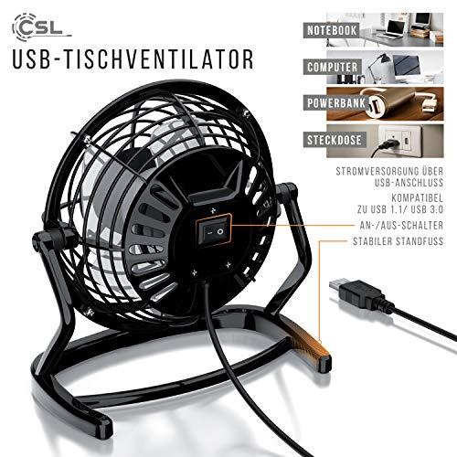 CSL – USB Ventilator | Tischventilator Bild 4*