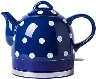 Théière rétro en céramique sans Fil 1 0L 1000W thé instantané café Soupe Avoine Base Amovible bouillante Protection sèche ...