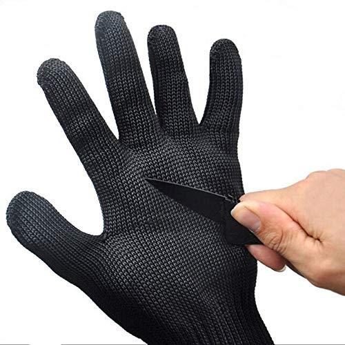 1 Paar Schnittschutzhandschuhe für das Jagdangeln, Hochleistungsschutzhandschuhe für die Küche, freie Größe