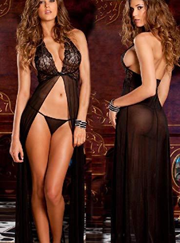 Sexy lingerieDames Bodysuits Sexy lingerie Sexy lingerie beha platte borst sexy kanten dames ondergoed beha black_S