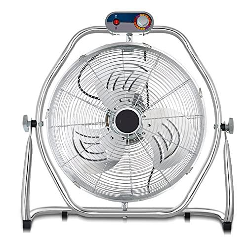 Ventilatore da Pavimento per uso Domestico, Circolatore D'aria, Ventilatore di Utilità, Ventilatore da Tavolo Portatile, per Casa, Ufficio Residenziale, Studio, uso Cucina, Esterno/interno