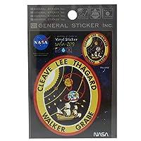 ビニール ステッカー[ビッグ シール]NASA/ナサ029 ゼネラルステッカー 宇宙 オフィシャル グッズ 通販