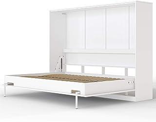 comprar comparacion SMARTBett Basic Cama abatible Cama Plegable Cama de Pared (Blanco, 140 x 200 cm Horizontal)